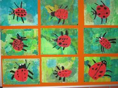Frühling Johann-Peter-Ring primary school in Ottmaring How to Play it Safe in a Casino or in an Onli Kindergarten Art Projects, Classroom Art Projects, Art Classroom, Summer Camp Crafts, Camping Crafts, Primary School Art, Art School, Spring Art, Painted Paper