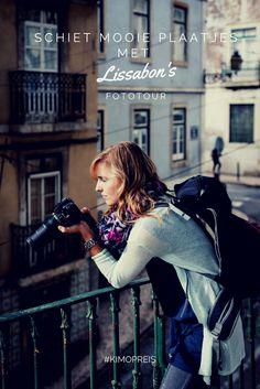 Ontdek Lissabon met een fototour. Je dwaalt door de straten terwijl je advies krijgt over het maken van foto's. Superhandig!