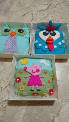 Quadradinhos de bolo para o Dia das Crianças!!!!