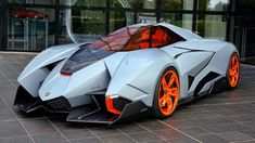 Everyone loves a good Motor Show concept, don't they? The pie-in-the-sky approach from manufacturers... - Lamborghini