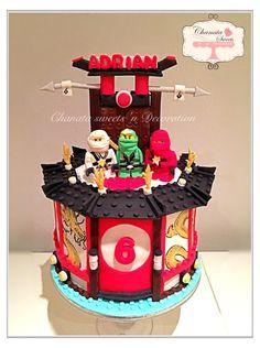 Ninjago lego cake