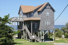 FRISCO Vacation Rentals | Zoes - Soundfront Outer Banks Rental | 1 - Hatteras Rental