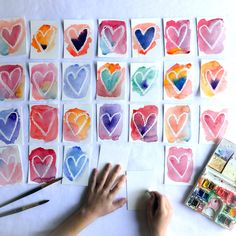 art 12 Process Art Ideas for Valentines Day o - art Process Art, Homemade Valentines, Valentine Crafts, Valentines Art For Kids, Valentine Party, Holiday Crafts, Toddler Crafts, Diy Crafts For Kids, Projects For Kids