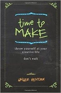 Come win a copy! Time To Make - Throw Yourself At Your Creative Life. Don't Wait.   http://www.craftytammie.com/2014/09/time-to-make-throw-yourself-at-your.html