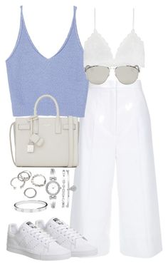 """Untitled #2189"" by theeuropeancloset on Polyvore featuring ESCADA, Zara, Yves Saint Laurent, adidas, Christian Dior, Forever 21, Anne Klein and Cartier"