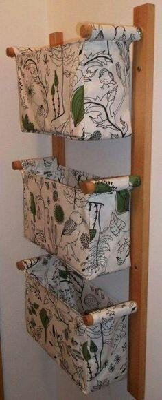 Organizador vertical de tecido
