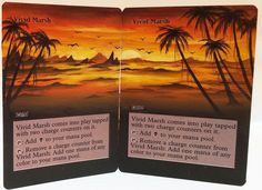 MTG Altered Art CUSTOM ORDER FOR TONY A Hand Painted Full Art OOAK Magic Cards #WizardsoftheCoast Fun~