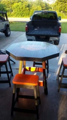 Harley Davidson Picnic Table Projects Pinterest Tables And Picnics