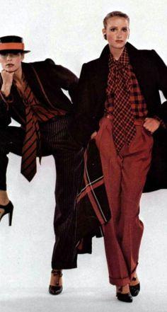 Yves Saint Laurent. L'Officiel magazine 1978