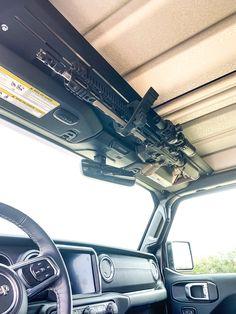 Jeep Mods, Truck Mods, Jeep Wrangler Accessories, Jeep Accessories, Tactical Truck, Tactical Gear, Weapon Storage, Gun Storage, Airsoft