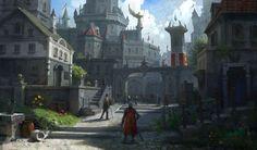 Medieval Fantasy City 2
