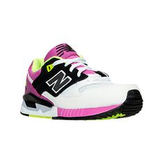 New Balance Women's 530 Bold '90s Casual Shoes (€90) ❤ liked on Polyvore featuring shoes, white, new balance footwear, mesh shoes, white shoes, new balance shoes and lightweight shoes