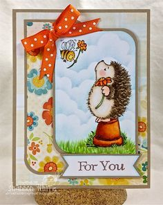 For You Handmade Greeting Card by EnchantedLadybug on Etsy, $5.50