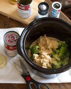 Super Easy Crockpot Broccoli Cheese Soup — Pinch of Yum