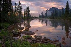 Озеро Лазурное, Сибирь