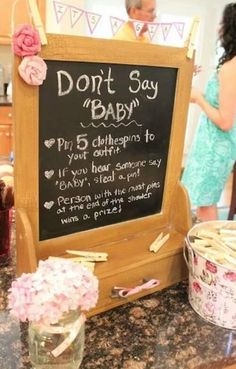 Fun baby shower game!
