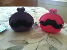 Cute idea for favors for a pre teen party. Mustache theme of course!! Silicone snap coin purses from Dollar Store. Then I bought a sleeve of stick on mustaches. Viola!!! Mustache Coin Purses!!