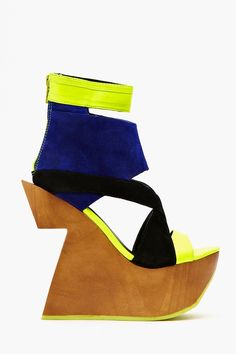 Brava Platform Wedge....hmmm..don't know about this one...love the colors though!!