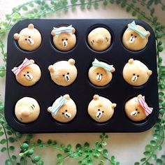 Bear mini muffins by (@yuri.1227.123.325)