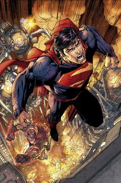 Superman (unchained) by Jim Lee
