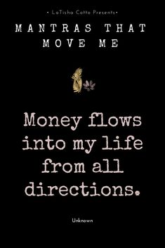 Mantra to manifest more money