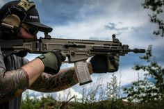 """CZ FDE 805 BREN. Cut and crowned to 11"""" with gas ports opened to the sbr spec."""