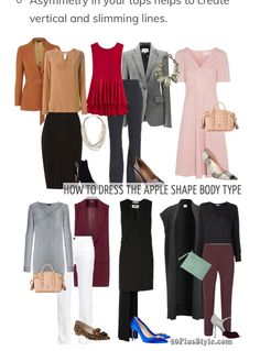 Dressing for an Apple Body Type