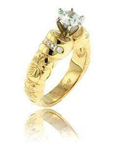 traditional hawaiian wedding band hawaiian wedding rings hawaiian rings kaimana rings - Hawaiian Wedding Ring