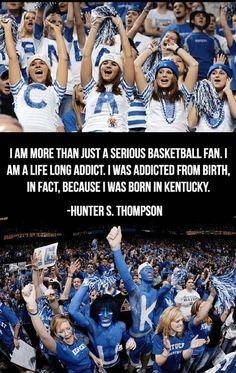 Kentucky Wildcat since birth!  BBN | Born blue!