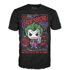 Funko Batman Arkham Asylum The Joker Sideshow Tee Shirt