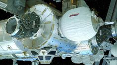 NASA and Bigelow Aerospace will make a second attempt at 9 a. EDT Saturday, May to expand the Bigelow Expandable Activity Module (BEAM), currently attached to the International Space Station. NASA Television coverage will begin at a. Bigelow Aerospace, Cosmos, Structures Gonflables, Spacex Dragon, Nasa Images, Astronauts In Space, Giant Inflatable, International Space Station, Bouncy Castle