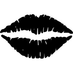 Lips 2 Clip Art At Clker Com Vector Clip Art Online Royalty Free - Clipart Suggest Silhouette Cameo Projects, Silhouette Design, Hot Pink Lips, Green Lips, Black Lips, Red Black, Kissing Lips, Silhouette Portrait, Art Graphique