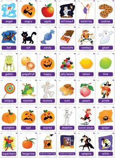 halloween vocabulary printable