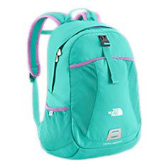 This bookbag i like for school. From north face.