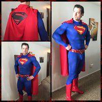 In Progress Superman Cosplay 2 by PhoenixForce85
