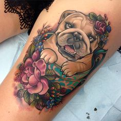 Tattoo by Makkala Rose
