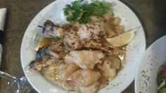 The Chicken Souvlaki meal very good and HUGE! Santa Lucia Pizza Winnipeg  |  4 St Mary's Rd, Win
