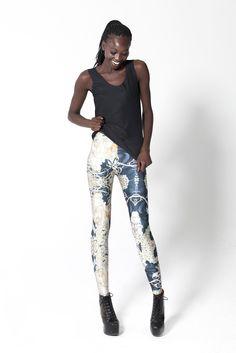 Mucha Black Leggings