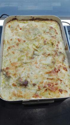 Lasagna pesto e patate