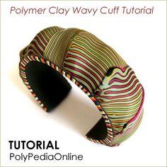 "PolyPediaOnline - ""Wavy Cuff"" Tutorial by Iris Mishly, via Flickr"