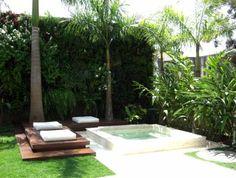 Spas e decks: alternativas à piscina - Blog de Paisagismo - Lopes