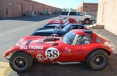 Really like number font/color pallet.  1965 Bill Thomas Cheetah Continuation Race Car Side
