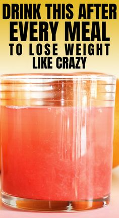 Drink This Fat Burning Drink After Every Meal To Lose Weight Like Crazy! - Fast Weight Loss Tips Diet Food To Lose Weight, Fast Weight Loss Tips, Best Weight Loss Plan, Weight Loss Drinks, Weight Loss Smoothies, Best Diet Drinks, Healthy Drinks, Healthy Detox, Healthy Smoothies