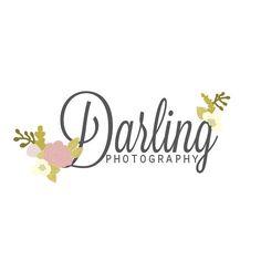 Premade Hand Drawn Photography Logo // OOAK // Custom
