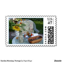 Garden Morning  Postage