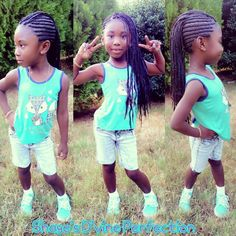 ♥My Daughter Is My #1 Model♥ #ScalpBriads #IndividualsInTheMiddle #Mohawk #SheFly #MyMinnieMe #Diva #MissKyrie