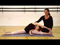 middle splits how to get and middle on pinterest
