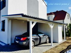 Wiata garażowa Car Shed, Dom, Outdoor Decor, Furniture, Home Decor, Home, Decoration Home, Car Shelter, Room Decor