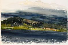 View Landskap by Lars Lerin on artnet. Browse upcoming and past auction lots by Lars Lerin. Winter Landscape, Urban Landscape, Watercolor Landscape, Watercolor Paintings, Watercolours, Global Art, Drawing Sketches, Sketching, Art Market