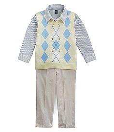 Class Club 2T-7 Sweater Vest Set | Dillards.com